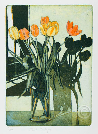 Just Tulips - Ruth de Monchaux 2012